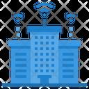 Metropolitan Internet Of Things Network Icon