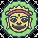 Mewar Lord Surya Colorful Icon