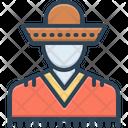 Mexican Hat Men Icon
