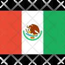 Mexico Flag World Icon