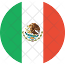 Mexico Flag World Icon