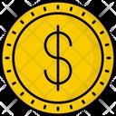 Mexico Peso Coin Money Icon