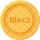 Mexico Peso Coin Mexico Peso Business Icon
