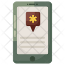 Mobile Health Mhealth Mobile Medication Icon