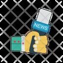 Mic Report News Icon