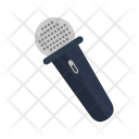 Mic With Wire Icon