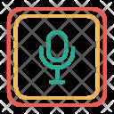 Record Mic Audio Icon