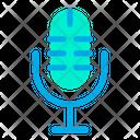 Microphone Voice Recording Sound Icon