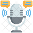 Mic Chat Icon