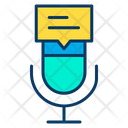 Mic Message Icon