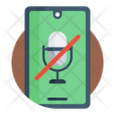 Mic Off No Volume No Mic Icon