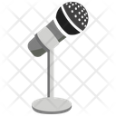 Mic With Stand Microphone Mic Icon