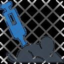 Syringe Mice Experiment Icon