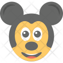 Mickey Mouse Emoji Icon