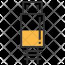 Micro B Connector Icon