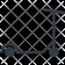 Micro Scooter Kick Icon