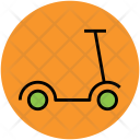 Micro Scooter Travel Icon