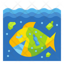 Micro Plastic Loupe Pollution Icon