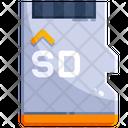 Micro Sd Data Memory Icon