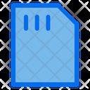 Micro Sd Card Memory Icon