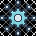 Micro Services Software Development Icon