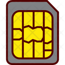 Micro Sim Card Icon