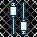 Micro Usb To Micro Usb Icon