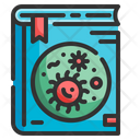 Microbiology Book Virus Cells Icon
