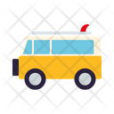 Microbus Van Camping Icon