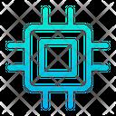 Chip Processor Hardwarecircuit Icon