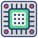 Memory Chip Storage Device Digital Card Icon