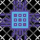 Microchip Cpu Processor Icon
