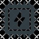 Microchip Processor Chip Icon
