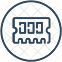 Hardware Memory Ram Icon