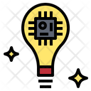 Idea Microchip Ai Icon