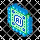 Brain Circuit Technology Icon