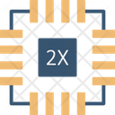 Microchip Chip Device Icon