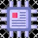 Microchip Chip Processor Icon