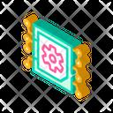 Micro Chip Isometric Icon