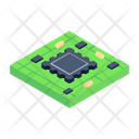 Processor Chip Integrated Circuit Microchip Icon
