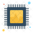 Microchip Cpu Processor Icon
