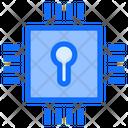 Chip Processor Lock Icon