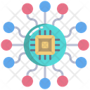 Chip Artificial Chip Connection Icon