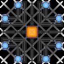 Microchip Microprocessor Computer Chip Icon