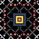 Microchip Chip Microchip Cpu Icon