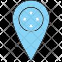Micronesia Country Flag Icon