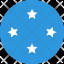 Micronesia Flag World Icon