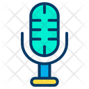 Mic News Equipment Mike Icon