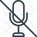 Microphone Mic Mute Icon