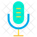 Mic Mike Communication Device Icon